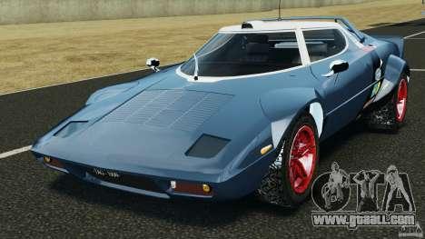 Lancia Stratos v1.1 for GTA 4