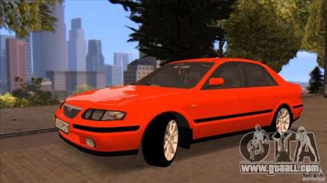 Mazda 626 Stock for GTA San Andreas back view