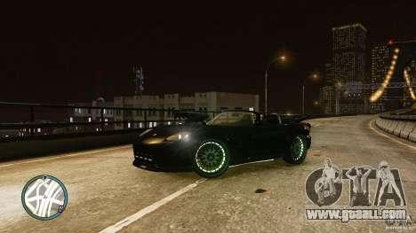 Green Neon Banshee for GTA 4 left view