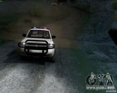 Chevrolet Silverado Police for GTA San Andreas left view