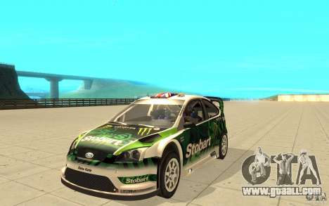 Ford Focus RS WRC 08 for GTA San Andreas wheels