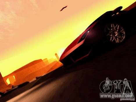 Lamborghini Gallardo LP560-4 for GTA San Andreas interior