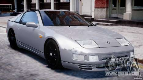 Nissan 300 ZX 1994 v1.0 for GTA 4 bottom view