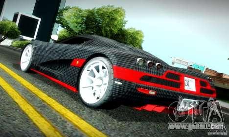 Koenigsegg CCX for GTA San Andreas right view