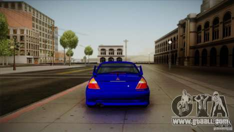 Mitsubishi Lancer Evolution lX for GTA San Andreas right view