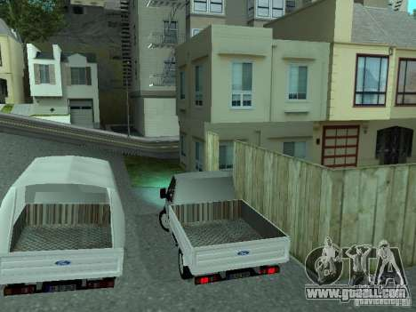 Ford Transit 2005 for GTA San Andreas right view