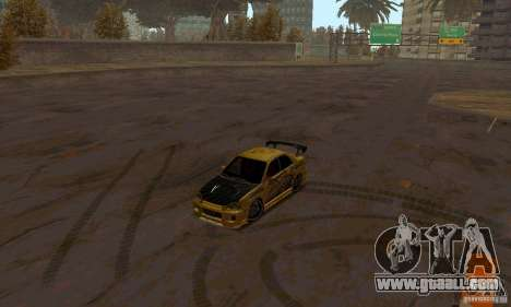 NFS Most Wanted - Paradise for GTA San Andreas tenth screenshot