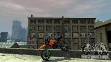 Stunt Supermotard Sanchez for GTA 4 side view