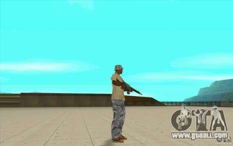 Pants adidas for GTA San Andreas sixth screenshot