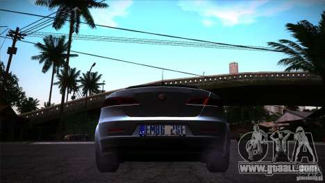 Alfa Romeo 159 Ti for GTA San Andreas right view