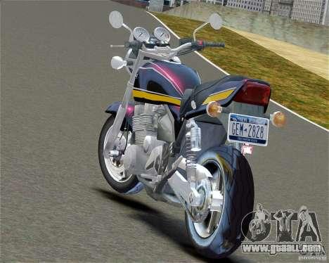 Kawasaki Zephyr for GTA 4 left view