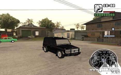 Mercedes-Benz G500 FBI for GTA San Andreas