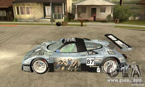Nissan R390 GT1 1998 v1.0.0 for GTA San Andreas back left view