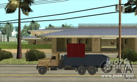KrAZ-257 for GTA San Andreas left view