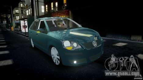 Volkswagen Polo 1998 for GTA 4 inner view