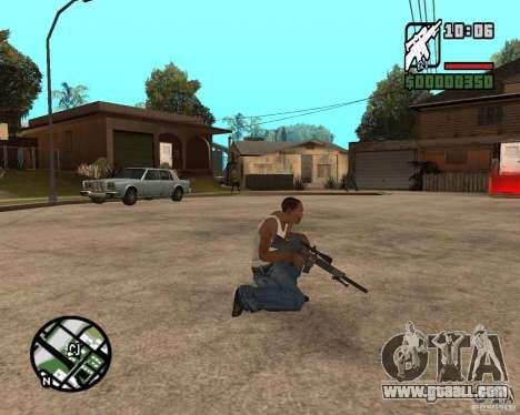 SR 25 for GTA San Andreas second screenshot