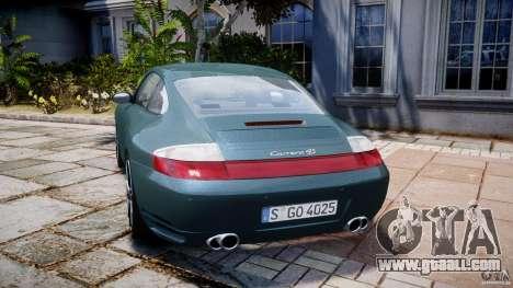 Porsche 911 (996) Carrera 4S for GTA 4 back left view