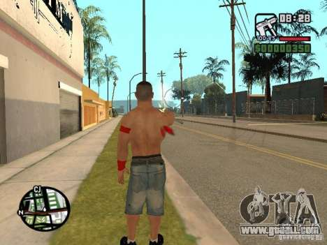 John Cena for GTA San Andreas fifth screenshot