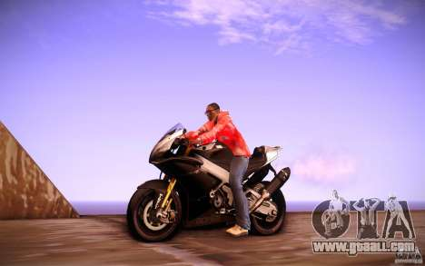 Aprilia RSV-4 Black Edition for GTA San Andreas