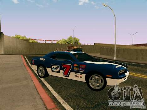 Dodge Challenger SRT8 for GTA San Andreas side view