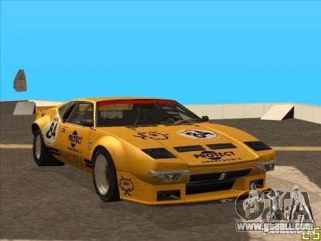 1972 DeTomaso Pantera for GTA San Andreas