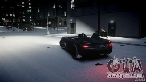 Mercedes Benz McLaren SLR Stirling Moss for GTA 4 right view