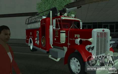 Peterbilt 379 Fire Truck ver.1.0 for GTA San Andreas