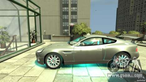 Aston Martin Vanquish S v2.0 without toning for GTA 4 left view