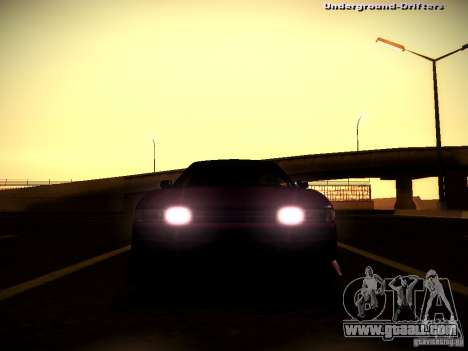 Nissan Silvia S13 Tandem Of DIE for GTA San Andreas inner view