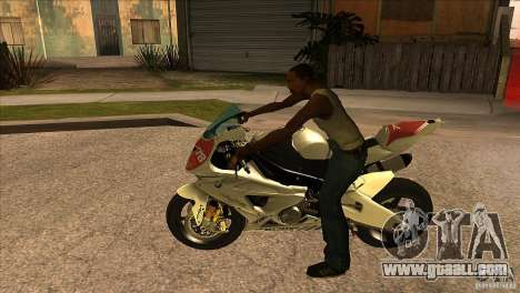 BMW S1000 RR for GTA San Andreas left view