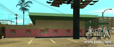 New WWE shop for GTA San Andreas third screenshot
