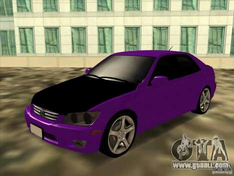 Lexus IS300 - Stock for GTA San Andreas