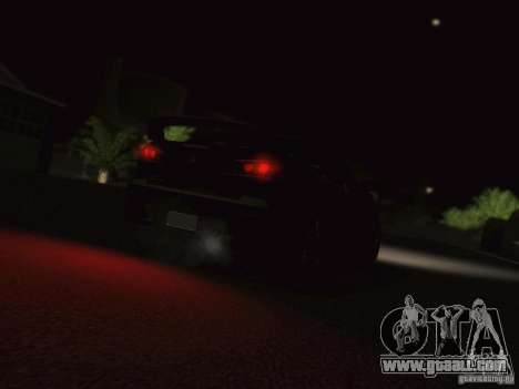 Mitsubishi  Lancer Evo X BMS Edition for GTA San Andreas back view