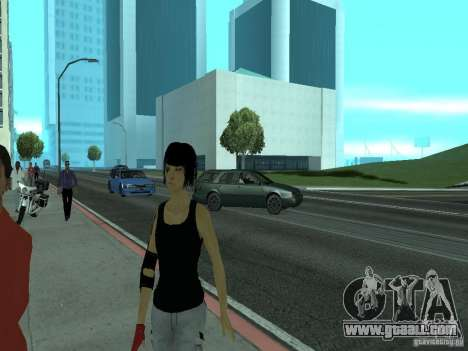 Mirrors Edge Faith for GTA San Andreas