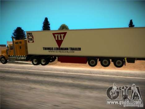 Refrigerator trailer for GTA San Andreas side view