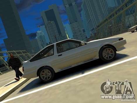 Toyota Corolla AE86 EPM v3.0 for GTA 4 left view