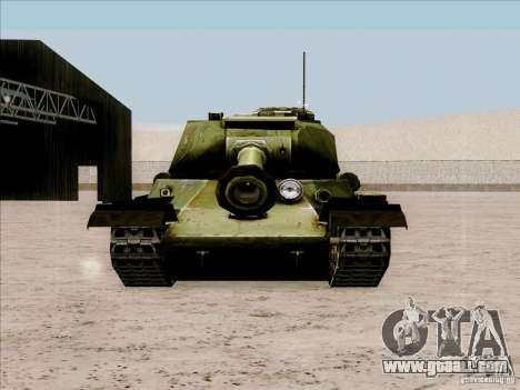 T-34 for GTA San Andreas right view
