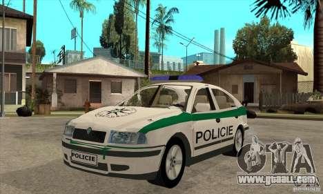 Skoda Octavia Police CZ for GTA San Andreas