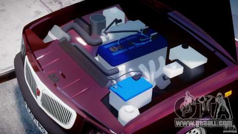 GAZ 3110 Volga for GTA 4 right view