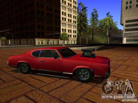 Charger Sabre for GTA San Andreas