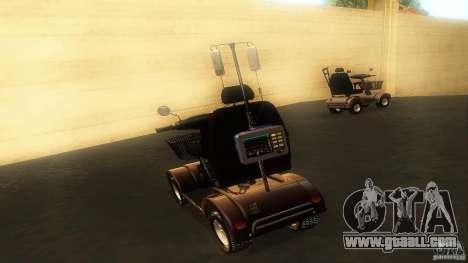 Elektroscooter - Speedy for GTA San Andreas inner view