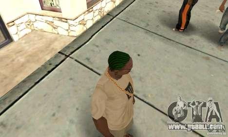 Green kornrou for GTA San Andreas