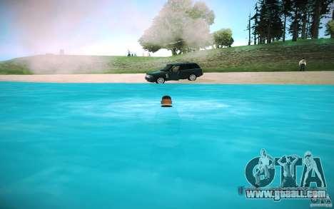 HD water for GTA San Andreas sixth screenshot