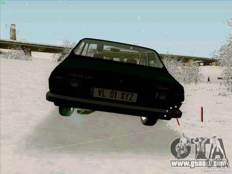 Dacia 1310 Sport for GTA San Andreas back left view