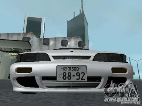 Nissan Skyline R32 Zenki for GTA San Andreas side view