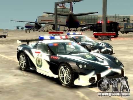 Chevrolet Corvette Z06 Police for GTA 4