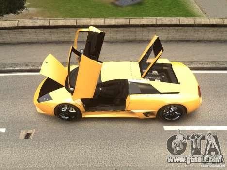 Lamborghini Murcielago LP640 2007 for GTA 4 back left view