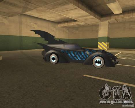 Batmobile 1995 for GTA San Andreas