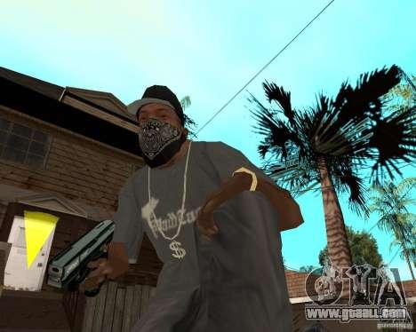 Walther cp99 for GTA San Andreas third screenshot