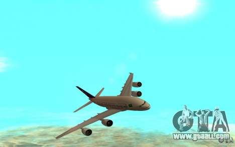 Airbus A380 - 800 for GTA San Andreas